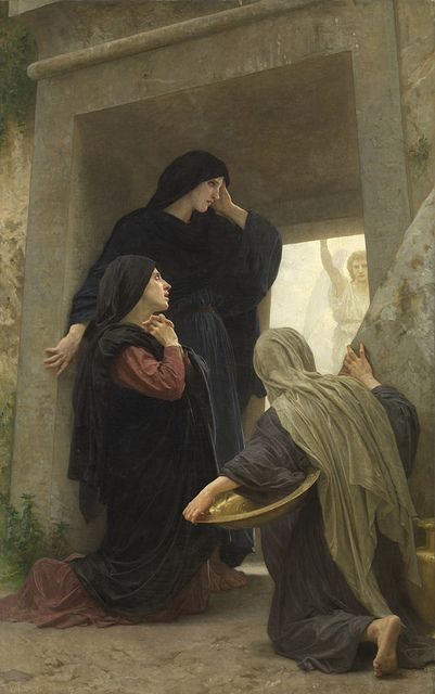 Women at the Empty Tomb - Adolphe Bouguereau