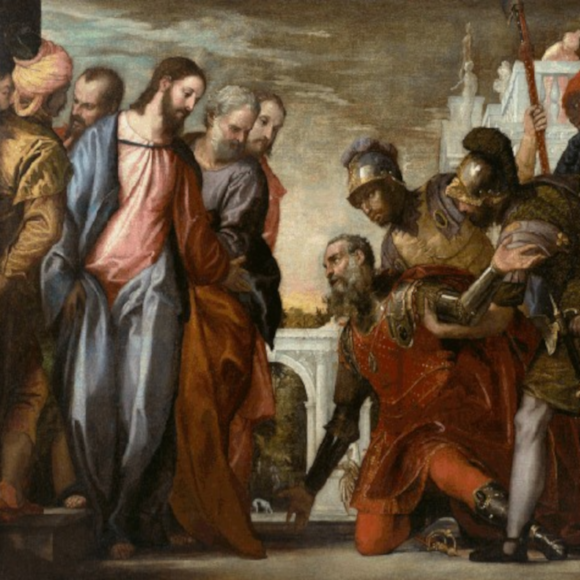 jesus heals the centurion's servant 580