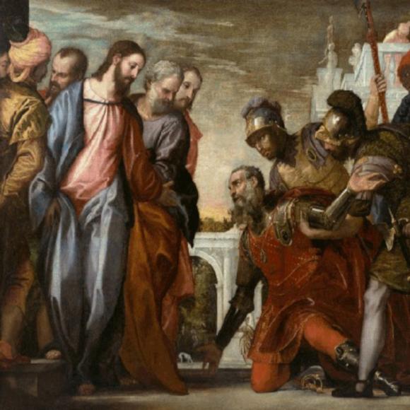 jesus heals the centurion's servant 580