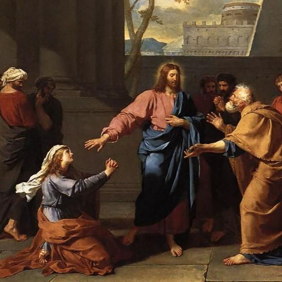 Christ and the Canaanite Woman - c.1784 Germain-Jean Drouais